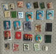 Josip Broz Tito Lot - 28 Pins - Celebrities