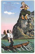 Loreley - Die Schönste Jungfrau Sitzet .... - Nr Z 556 - Illustrateur - Ottmar Zieher - Loreley
