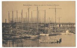 CPA - PORT-DE-BOUC (Bouches Du R) - Bateau Sur Cales Des Chantiers De Provence - France