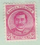 Western Samoa 1895 SG 60 P11 Mint Hinged - Samoa