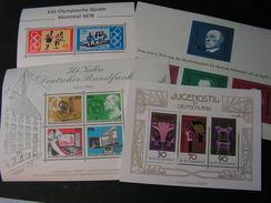 BRD Berlin Lot Blöcke ** MNH - Briefmarken