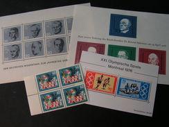 BRD  Lot Blöcke ** MNH - Briefmarken