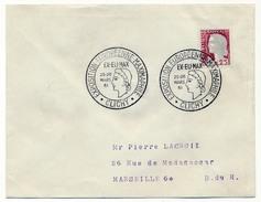 "FRANCE => Env Scotem - Cachet Temporaire ""Exposition Européenne Maximaphile EX-EU-MAX"" Clichy 25/03/1961 - Bolli Commemorativi"