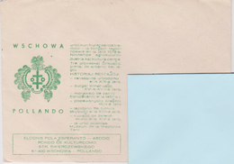 Poland - Envelope Published In Wschowa - Pollando - Coat Of Arms - Oude Documenten