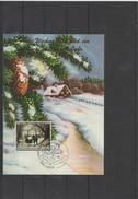 2016 Lichtenstein Christmas 2016 Maximum Card - Liechtenstein