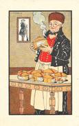 Chromo L'Alsace Est Française - Foie Gras Truffé De Strasbourg - Illustration Pierre Vincent - Trade Cards