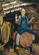 Dans La Cave - Blanc, Rouge, Boire Un Petit Coup C'est Agréable - Vigne - Vin - Tonneau - Vignes