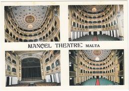 Teatru Manoel - Four Interior Views Of The Malta National Theatre  - (Malta) - Malta