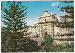 Main Gate, Mdina  - (Malta) - Malta