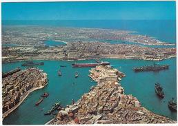 Malta G.C. - The Grand Harbour : BOATS/SHIPS - (Malta) - Malta