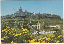 Country Chapel Beneath Mdina Skyline - (Malta) - Malta