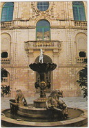 Auberge De Castille Courtyard, Valletta - (Malta) - Malta