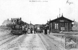 """B30537 Piré - La Gare """" Reproduction"""" - France"""