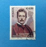 2004 ITALIA FRANCOBOLLO USATO STAMP USED - FESTIVAL PUCCINI - - 6. 1946-.. Repubblica