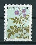 1995 Peru Aardappel,potato,kartoffeln Used/gebruikt/oblitere - Peru
