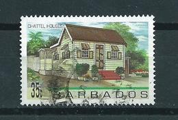 1996 Barbados 35 Cent House Used/gebruikt/oblitere - Barbados (1966-...)