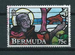 1992 Bermuda 75 Cent Glas In Lood Used/gebruikt/oblitere - Bermuda