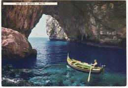 The Blue Grotto - (Typical Boat) - (Malta) - Malta