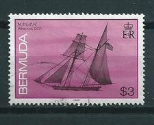 1989 Bermuda $3.00 Minerva,ship,boat Used/gebruikt/oblitere - Bermuda