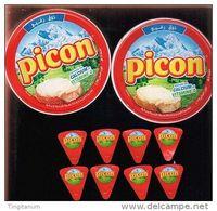 """2 étiquettes- Boites De Fromages """"PICON""""- Serie-76022844-76022845. - Fromage"""