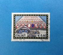2004 ITALIA FRANCOBOLLO USATO STAMP USED - SICUREZZA STRADALE 0,60 - - 6. 1946-.. Repubblica