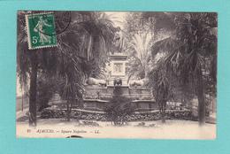 Old/Antique? Postcard Of Square Napoleon,Ajaccio, Corsica, France,Posted With Stamp,Q38. - Ajaccio