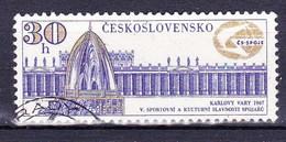 Tchécoslovaquie 1967 Mi 1719 (Yv 1582), Obliteré - Used Stamps