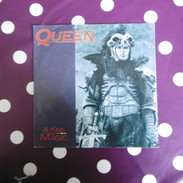 45 TOURS   QUEEN  A  KIND  OF  MAGIC    GEMA   1986   ORIGINAL - Altri