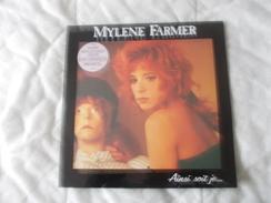 33T - Mylene Farmer Ainsi Soit Je - Dischi In Vinile