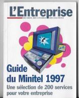 Guide Du Minitel 1997 - Livres, BD, Revues