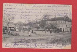 Longjumeau --  Place Du Marché  --  Abimée - Longjumeau