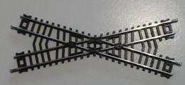Trains électriques, Echelle N - Croisement De Voies X - LIMA - Modèle Long - Rails