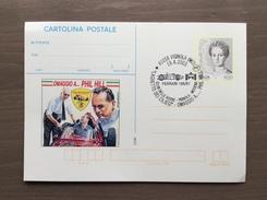 Cartolina Postale Con Soprastampa Omaggio A...Phil Hill Annullo Club Delle Rosse Vignola (MO) 19-4-2003 - Grand Prix / F1