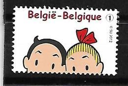 Belg. 2012 - COB N° 4262 ** - Bob Et Bobette (Willy Vandersteen) - Belgio