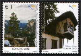 Kosovo 2012 Europa CEPT, Visit..., Set MNH - Europa-CEPT