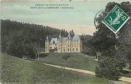 Loire -ref-A832-  Saint Romain D Urfe -saint Just En Chevalet - St Just En Chevalet - Chateau De Gennetines - Chateaux- - Other Municipalities
