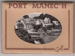 PORT MANEC'H (29 Finistere)    - CARNET DE 10 VUES -  BON ETAT - Lieux