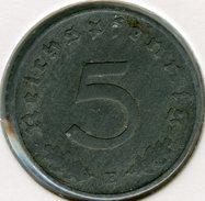 Allemagne Germany 5 Reichspfennig 1940 E J 370 KM 100 - 5 Reichspfennig