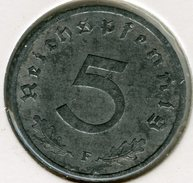 Allemagne Germany 5 Reichspfennig 1941 F J 370 KM 100 - [ 4] 1933-1945 : Troisième Reich