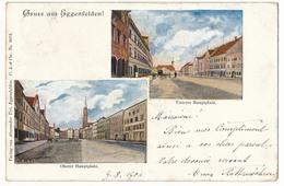 CPA - EGGENFELDEN (Bavière) - Gruss Aus Eggenfelden - Oberer Hauptplatz - Unterer Hauplatz - Eggenfelden