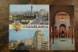 MAROC, SOUVENIR DE CASABLANCA, MULTI-VUES - Casablanca