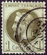 NAPOLEON  LAURE N° 25a OB. CAD 1871 TB - 1863-1870 Napoleon III With Laurels