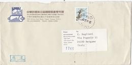 Busta Posta Via Aerea Taiwan. - Taiwán (Formosa)