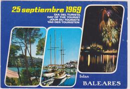 ESPAGNE,SPAIN,ESPANA,islas  Baleares,ile Des Baléares,bord De Mer,1969 - Espagne