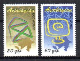 Azerbaijan - 2008 - Europa/The Letter - MNH - Azerbaïdjan