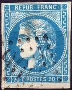 CERES BORDEAUX N° 46B OB. LOS. GC  B - 1870 Bordeaux Printing