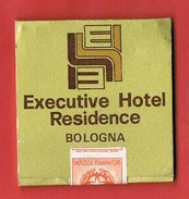 Italia Antica Scatola Di Fiammiferi Executive Hotel Residence - Integra Con Marchio Minerva - Scatole Di Fiammiferi