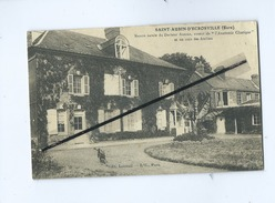 CPA  - Saint Aubin D'Ecrosville (Eure) - Maison Natale Du Docteur Auzoux..... - Saint-Aubin-d'Ecrosville