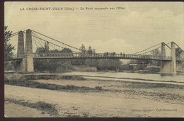 La Croix-Saint-Ouen - Le Pont Suspendu Sur L'Oise - Frankreich
