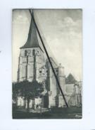 CPA  Souple - St Aubin D'Ecrosville  (Eure) - L'Eglise , Style Renaissance - Saint-Aubin-d'Ecrosville